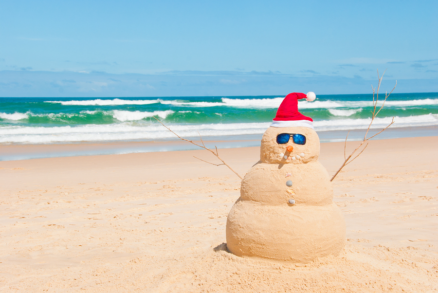 Ho, ho, ho! No wonder we get excited about 'Christmas in July'!
