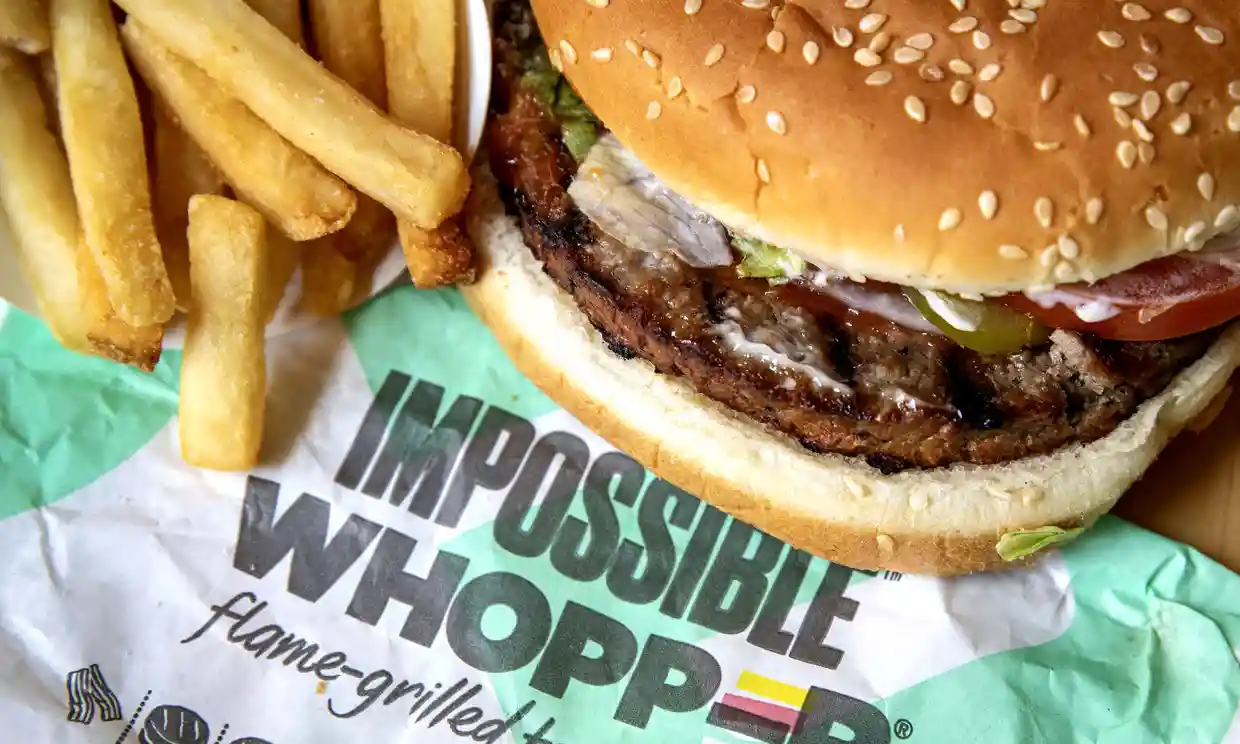 """So the target market of Burger King's meatless """"Impossible Whopper"""" was meat-eaters all along?"""